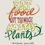 De voedselwaarheid: Eet eten, niet te veel en vooral planten