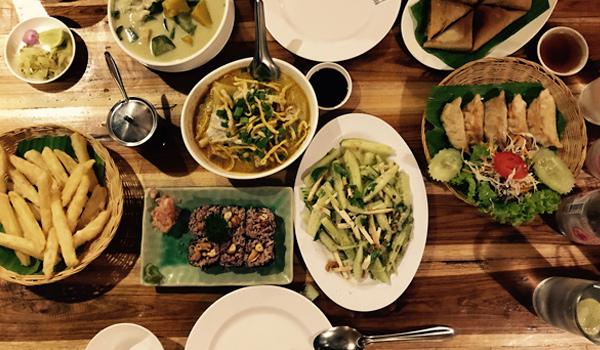 Aum Vegetarian Restaurant Chiang Mai
