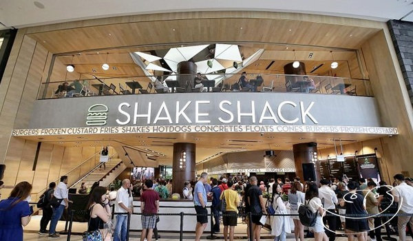 Singapore Changi Airport Jewel Shake Shack