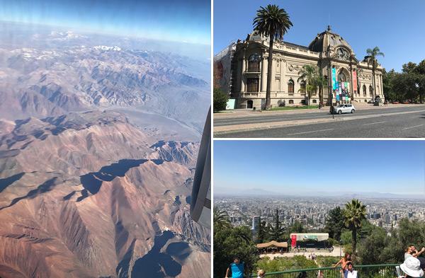 Chili Santiago Cristobal uitzicht