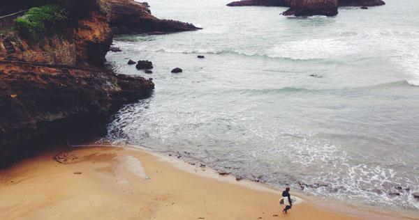 Digital Nomad duiken surfen in hun vrije tijd