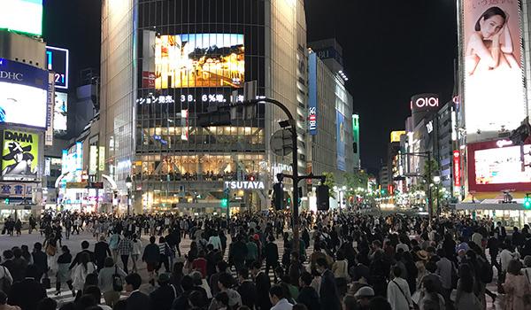 Shibuya kruispunt crossing Tokyo