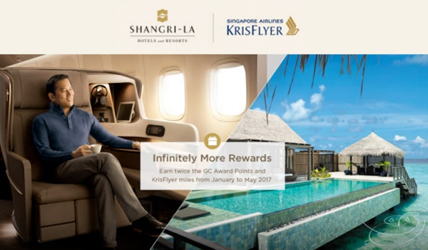 Singapore Airlines Shangri La Golden Circle American Express