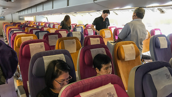 Thai Airways cabin 777-200