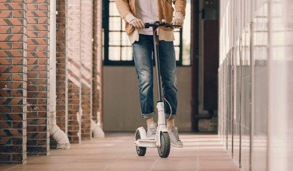 Xiaomi M365 elektrische step openbare weg